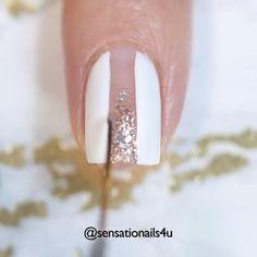 Nail Polish Art, Toe Nail Art, Glitter Nail Art, Toe Nails, Diy Nails Videos, Acrylics, Acrylic Nails, Tiny Cooking, Girls Nails
