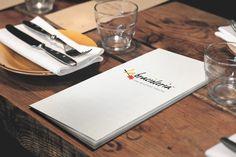La bracioleria menu - graphic design #design #restaurant #milano #art #mockup #menu