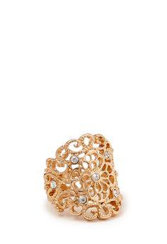 Regal Filigree Ring | FOREVER21 - 1000068949