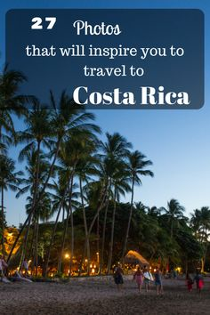The number of visitors to Costa Rica is growing year on year but there are still many that have not considered traveling to Costa Rica. Are you one of them?
