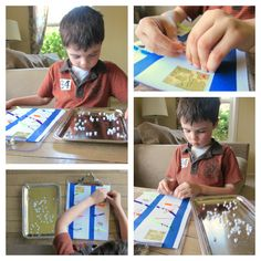 Spell with Alphabet Beads and Build Fine Motor Skills - No Time For Flash Cards