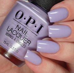 Opi peru collection fall 2018 nails colors в 20 Lavender Nail Polish, Lavender Nails, Fancy Nails, Cute Nails, Pretty Nails, Cute Nail Colors, Opi Nail Polish Colors, Opi Nails, Gel Polish
