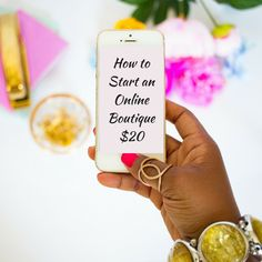 Learn business fundamentals, branding process, and how to buy wholesale for a successful online business! Starting An Online Boutique, Selling Online, Home Based Business, Start Up Business, Successful Online Businesses, Successful Business, Latest Fashion, Kids Fashion, Branding Process