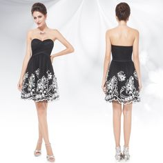 pretty little black dresses | -Pretty-Little-Black-Dress-LBD-Cocktail-Party-Ball-Gown-Party-Dresses ...