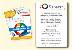 Terenure Enterprise Centre proudly supports this joint community and local business working together Initiative Busy At Work, You Are Invited, Centre, Product Launch, Community, Invitations, Business, Store, Save The Date Invitations