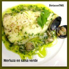 DIETA con THERMOMIX: MERLUZA EN SALSA VERDE - DIETA