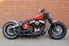Wow great softail bobber