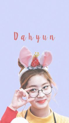 KIM DAHYUN WALLPAPER #kpop #twice #wallpaper #dahyun #lavender
