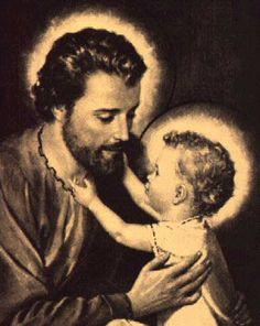 Je vous salue Joseph, image de Dieu le Père Je vous salue Joseph, père de Dieu le Fils Je vous salue Joseph, Sanctuaire du Saint Esprit Je vous salue Joseph, bien-aimé de la très Sainte Trinité Je …