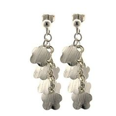 Bijoux tendances - Boucles d'oreilles design en Argent 925: ShalinCraft: Amazon.fr: Bijoux