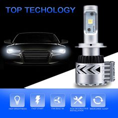 (39.21$)  Buy here - http://aipq2.worlditems.win/all/product.php?id=32699992049 - 1 Set H7 Led 2*36w G8 8G For XHP50 12000LM Led Headlight Lamp 9005 9006 Bulb Headlamp Automobile Light Source For General Car