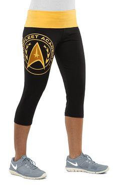 Star Trek Starfleet Academy Capri Yoga Pants #startrek #LLAP #kurttasche