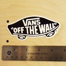 old school vans stickers