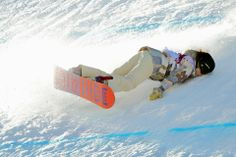 Erich Schlegel/Zuma Press WIPEOUT: Jessika Jenson of the U.S. took a fall in a snowboard qualifying round at the Winter Olympics in Sochi, Russia, Thursday.