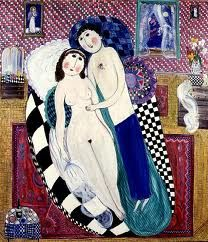 'The Wedding Night' by Dora Holzhandler Oil painting