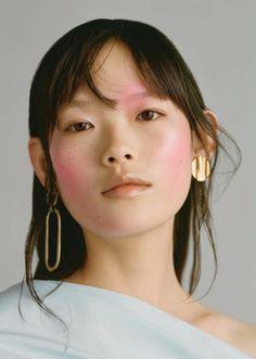 "midnight-charm: "" ""Shock Treatment"" Xie Chaoyu photographed by Ben Toms for Allure December 2017 Stylist: Mattias Karlsson Hair: Mari Ohashi Makeup: Lucy Bridge """