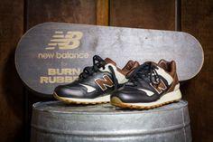 New Balance 577 « Joe Louis » x Burn Rubber, une basket qui a du punch !