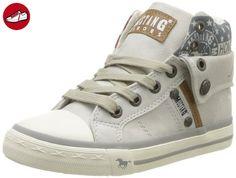 1099 302 203, Sneakers Basses femme, Blanc Cassé (203 Ice), 40 EUMustang