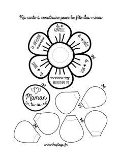 Ma carte à construire pour la fête des mères - Blog Hop'Toys