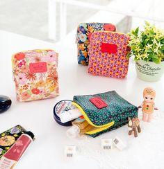 Pattern Ten Ten Cosmetic Pouch s Make Up Case Storage Ardium | eBay