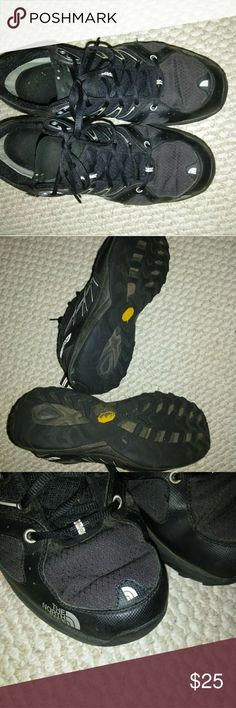 Men's Northface Trail Running shoes sz 12 Good condition.  The Vibram soles deliver great traction and keeps you stable on any terrain. Ultra fastpack style. North Face Shoes Athletic Shoes