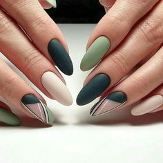 Simple Line Nail Art Designs You Need To Try Now line nail art design, minimalist nails, simple nails, stripes line nail designs Rose Gold Nails, Matte Nails, My Nails, Stiletto Nails, Coffin Nails, Acrylic Nails, Nice Nails, Prom Nails, Long Nails