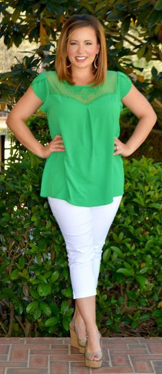 Perfectly Priscilla Boutique - Let Your Garden Grow Top, $36.00 (http://www.perfectlypriscilla.com/let-your-garden-grow-top/)