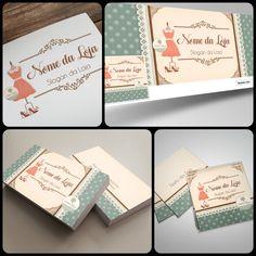 Logomarca para loja de Moda Feminina; Capa Facebook Moda Feminina, Arte Cartão de Visitas Moda Feminina, Tag para Roupas. Veja outras lindas artes para Identidade Visual à pronta entrega em nosso site: http://www.ateliefloradg.com.br/