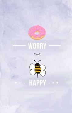 Donut Worry... Beeee Happy!!