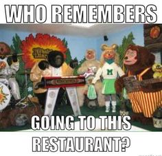 I loved going here!!! But i was scared of the big gorilla,lol