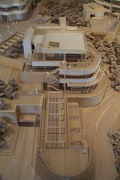 Getty Center in Los Angeles, California by Richard Meier displayed at the…