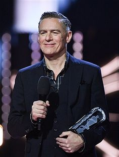 Bryan Adams presents award at the 2017 Juno Awards at The Canadian Tire Centre on April 2, 2017 in Ottawa, Canada.