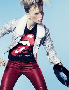 Marie Claire Italia October 2012 Cato van Ee by Max Cardelli