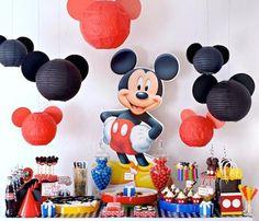 Cumpleaños Mickey Mouse - Inspiración e ideas para fiestas de cumpleaños - Fiestas de cumple para niños - Charhadas.com