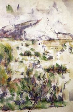 PAUL CEZANNE Mont Sainte-Victoire Seen from Les Lauves (1902-06)