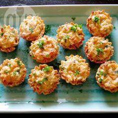 Cheesy Crab Tartlets @ allrecipes.co.uk