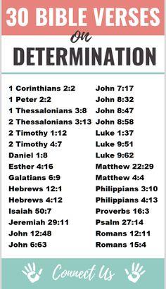30 Encouraging Bible Scriptures on Determination Bible Study Notebook, Bible Study Plans, Bible Study Tips, Scripture Reading, Scripture Study, Worship Scripture, Worship Quotes, Bible Verses Quotes, Bible Scriptures