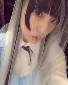 GM💕 . . . #りさちー #相沢梨紗 #でんぱ組#キラキラ #dempagumi #japan #instagood #alice #costume #idol #japanese #gm #☀️ #ヲハロ #キラキラって輝く星はどこにあるの #veil