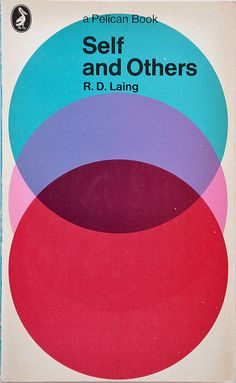 This is an effective book cover - the overprinting of the top and bottom circle with the middle circle being hidden behind the bottom one is suggestive of groups of people.