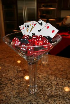 Casino Birthday Birthday Party Ideas | Photo 16 of 23 | Catch My Party