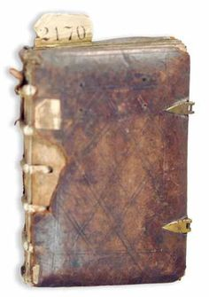 A Rechenbuch is a kind of calculating manual, dating from medieval or renaissance times...