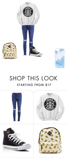 """Untitled #147"" by samhilborne on Polyvore featuring Converse and Skinnydip"