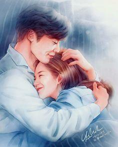 Drama Korea, Korean Drama, Dramas, Doctor Stranger, Drama Fever, Weightlifting Fairy Kim Bok Joo, Park Min Young, Anime Love Couple, Fanart