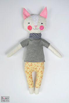 kitty rag doll: Grace, cat, modern rag doll, rosey rag doll