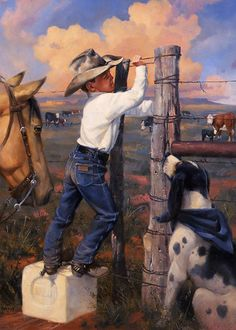 FORCED ENTRY | GALLERY COWBOY KIDS | Artist Jack Sorenson