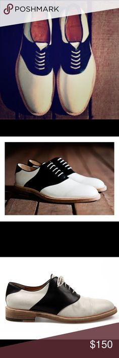 Band of Outsiders saddle oxfords These uber-luxurious handmade Italian leather saddle oxfords are from the cult-favorite menswear designer, Band of Outsiders. EUC. Size 9. Band Of Outsiders Shoes Oxfords & Derbys