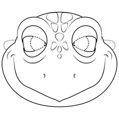 Turtle Mask coloring page from Turtles category. Select from 32012 printable crafts of cartoons, nature, animals, Bible and many more. Turtle Costumes, Pirate Halloween Costumes, Couple Halloween Costumes For Adults, Couple Costumes, Group Costumes, Adult Costumes, Printable Crafts, Templates Printable Free, Free Printable Coloring Pages