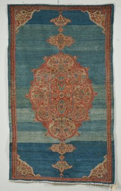 Sultanabad Rug, West Persia, last quarter 19th century, 8 ft. 6 in. x 5 ft. 2 in. Estimate $3,500-4,500