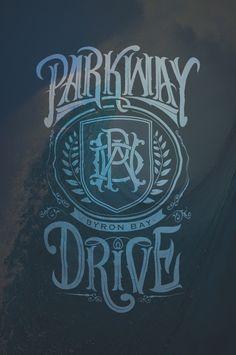 Parkway Drive crest......latest tat!!!
