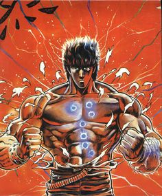 Kenshiro, Fist of the North Star / Hokuto no Ken Illustration Manga, Illustrations, Manga Anime, Anime Art, Martial Arts Styles, Martial Artists, Star Pictures, Manga Artist, Animation